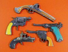 Wooden Toy Guns