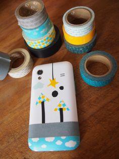 Mon téléphone customisé! copyright: Princesse aux bidouilles