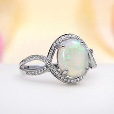 Love this opal ring!