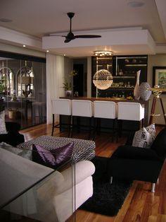 Lounge, living room, interior design, wallpaper, gfi | Living room ...
