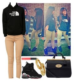 """THE NORTH FACE"" by blasianmami16 ❤ liked on Polyvore"