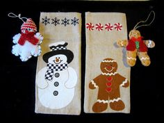 Christmas Holiday Gift Bags w Matching by JewelsOfHighElegance, $8.00