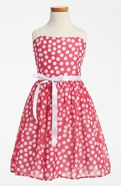 Un Deux Trois Floral Chiffon Dress (Big Girls) available at #Nordstrom