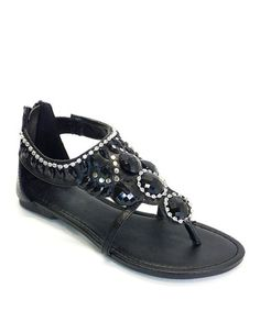 Take a look at this Black Andrix Sandal by SODA on #zulily today!