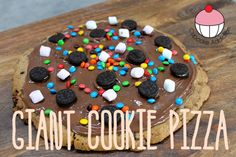Cooking with Kids! Giant Choc Chip Cookie PIZZA!