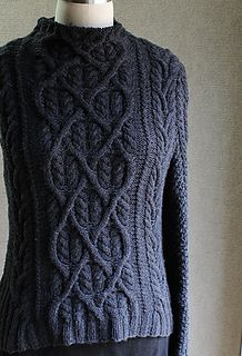 Shakespeare in Love Sweater pattern, worsted weight