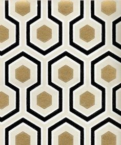 David Hicks' designs are modern classics, and this one has the added bonus of gold foil. The David Hicks Hexagon pattern is $148 per roll at Verde. If you can't buy a single sheet to frame, use the extra wallpaper to line the back of a bookcase or cut it up into small squares that you frame and hang in clusters.