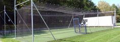 DIY Batting Cage - http://www.battingnets.com/cgi-bin/category/In-Ground-Baseball-Batting-Cage-Frames-Info