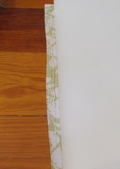 COTTAGE AND VINE: Fabric Covered Roller Shades - Finally