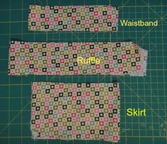 How to Make Peplum Skirt for American Girl Dolls   Sew Adollable
