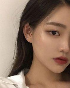asian makeup skull makeup id - Korean Natural Makeup, Korean Makeup Tips, Korean Makeup Look, Natural Makeup Looks, Korean Makeup Tutorials, Korean Make Up Natural, Make Up Korean, Ulzzang Makeup Tutorial, Asian Make Up