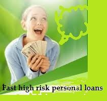 With High Risk Personal Loans you can get the funds without any delay. For these loans you need to a use simple online application process. Online it is so easy to apply, these loans take few minutes and you can get easy money in your bank account.