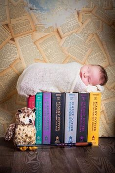 Harry Potter Newborn Photography (photo by: Court Street Portraits in Beatrice, Ne)