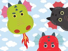 These printable dragon masks are perfect for parties or afternoon adventures! Download it from Mr. Printables.