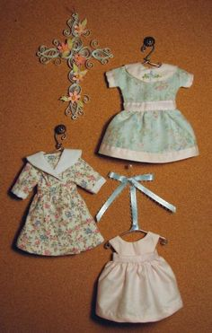 HH400 - The 6 Inch Dolls' Fashion Collection (Sewing Pattern to Make Doll Dresses)