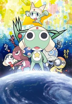 Sgt. Frog one epsiode,ONE EPISODE IS ALL I WATCHED,then I gave up