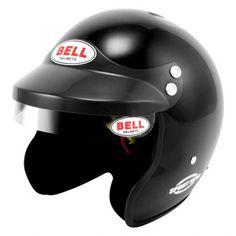 Bell Helmets® - Sport Mag Sport Series Open Face Racing Helmet, Black
