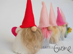 This listing is for one Mini Gnome. Mini Gnome is a replica of our popular bigger size Nordic Gnomes. Little gnome that you can tuck in a