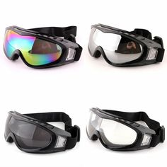 335caf7ffd6 Snowboard Dustproof Sunglasses Paintball Outdoor Sports Windproof Eyewear  Glasses Motorcycle Ski Goggles Lens Frame Glasses Paintball