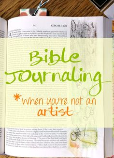 Hesitant about beginning Bible journaling, this post is definitely for you. I list 6 areas of concern for the hesitant and simple solutions.