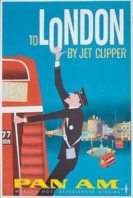 London travel poster #JetsetterCurator