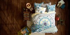 Amid Housing Rebound, Home Is Where The Profit Will Be This Year For Retailers boho boutique bedding Happy Room, Boho Boutique, Home Board, Bed Table, Boho Bedding, Girls Bedroom, Bedroom Ideas, Master Bedrooms, Bedroom Inspiration