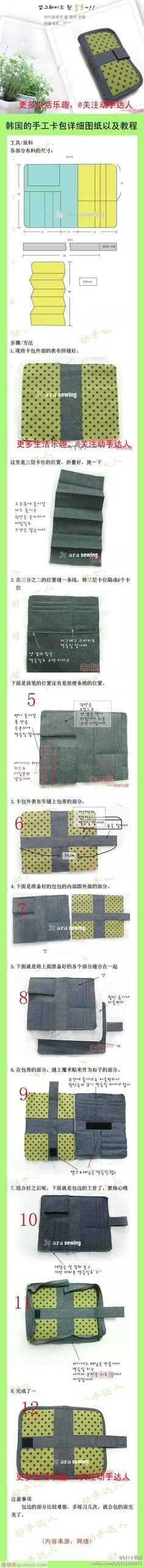 multi compartment wallet