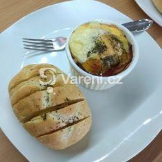 Plněné kokotky s křepelčími vejci