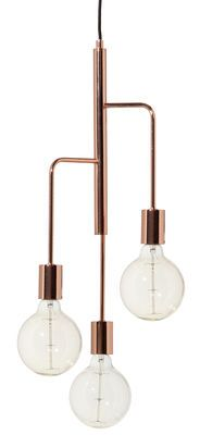 Scopri Sospensione Cool -/ Ø 25, Rame di Frandsen, Made In Design Italia