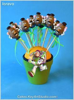 Toy Story Cake Pops | Flickr - Photo Sharing!