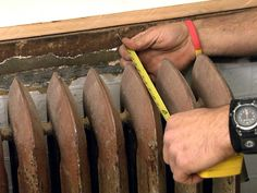 How to Build a Radiator Cover Use these instructions to conceal an unsightly radiator with a stylish cover. You can even custom build the cover to match your cabinetry. Diy Radiator Cover, Radiator Ideas, Home Renovation, Home Remodeling, Home Radiators, Garage Remodel, Home Upgrades, Home Repairs, Home Hacks