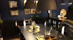 Las tendencias que trae Ikea para este 2018. Mesa y sillas de comedor. Platos y cubiertos. Cuadros decorativos. Lámparas de techo.  Encuentra dónde comprar este diseño y Producto en Colombia.