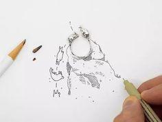 Multiply Like Rabbits by Artur Dabrowski  现居美国布鲁克林的建筑师 Artur Dabrowski 从小就喜欢在笔记本上绘制以兔子为主人公的插画,用这些可爱的动物来表达自己的所思所感。在创办 3D 打印首饰品牌 Multiply Like Rabbits 时,热衷于讲故事的 Dabrowski 便在参考建筑设计的极简风饰品中加入了兔子这一元素,看起来活泼不少。这些产品均采用高分辨率的 3D 打印蜡制作,再经由手工抛光获得光滑的表面。