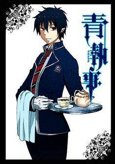 Rin Okumura is now a Blue Butler. Hmmm X3