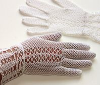 Ravelry: Fair Lady Gloves #2478 pattern by The Spool Cotton Company... Free pattern!
