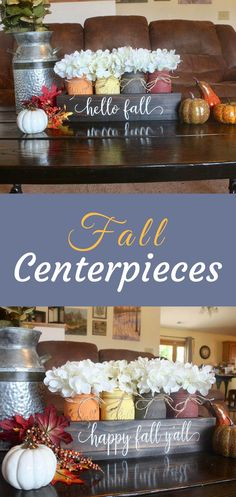 50 Inspiring Thanksgiving Centerpieces Table Decorations in This Fall - DecOMG Fall Table Centerpieces, Thanksgiving Centerpieces, Table Decorations, Diy Thanksgiving, Holiday Decorations, Fall Crafts, Holiday Crafts, Autumn Decorating, Porch Decorating