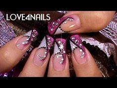 how to, video tutorial, nails (uñas)