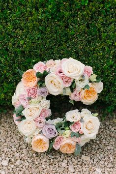 floral monogram | Mint Photography