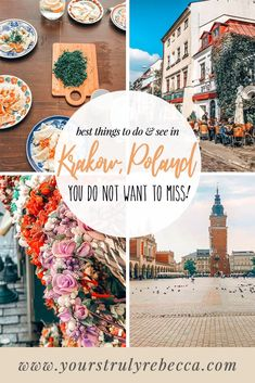 Things to do in Krakow Poland: Krakow is filled with history beautiful sights things to do and deli European Destination, European Travel, Travel Europe, Croatia Travel, Italy Travel, Cool Places To Visit, Places To Go, Stuff To Do, Things To Do