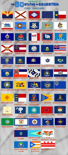 state flags in order