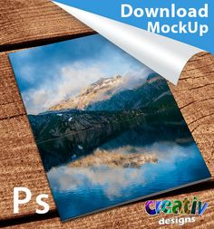Download Font Cover Magazine - Mockup
