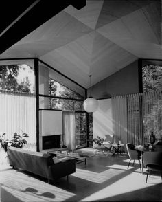 c.1948 Booth Residence |Los Angeles, CA | Photo: Julius Shulman - Via