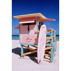 Lifeguard Station Wall Mural | PBteen