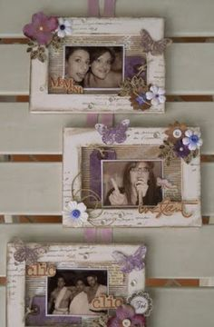 Wood Crafts Ideas Thoughts 66 Ideas For 2019 Frame Crafts, Diy Frame, Wood Crafts, Diy And Crafts, Paper Crafts, Wood Picture Frames, Picture On Wood, Marco Diy, Home And Deco
