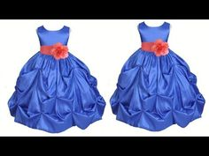 DIY Designer Baby Frock Cutting and Stitching Full Tutorial Little Girl Pageant Dresses, Little Dresses, Prom Dresses, Formal Dresses, Baby Dresses, Crochet Snowflake Pattern, Kids Dress Patterns, Stitching Dresses, Cool Baby Clothes