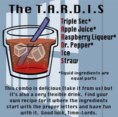 Nerd themed drinks...need I say more?