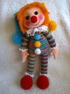 Leithygurumi: Happy Clown Free Amigurumi Pattern / Amigurumi Şap...