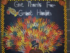 Give Thanks for Great Health!