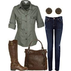 Cute Boot Outfit