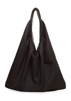 9c4cc4bcdd83 Yohji Yamamoto   Soft Twill Bag Deconstruction Fashion